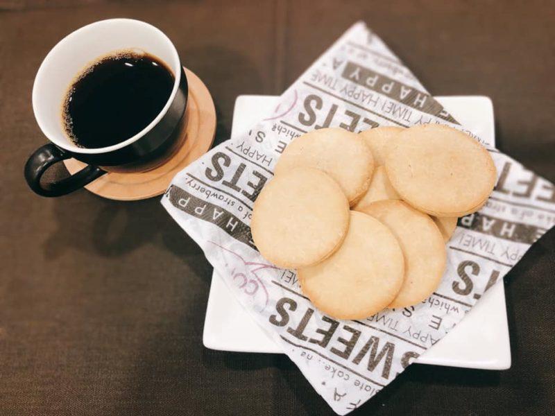 グルテンフリーのシンプル米粉クッキー