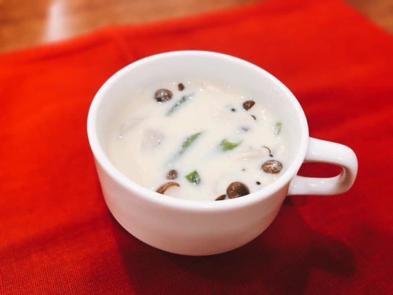 里芋のあったか豆乳スープ