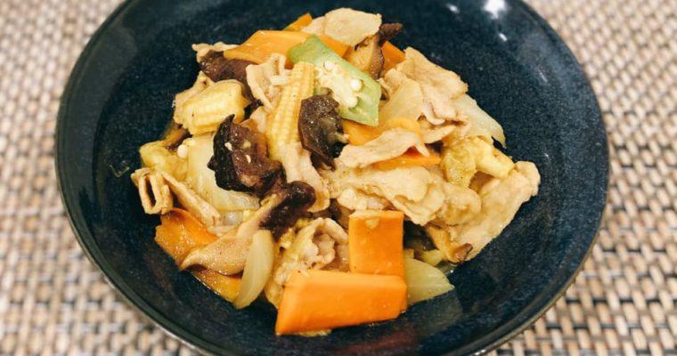 野菜たっぷり カレー八宝菜