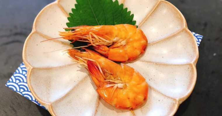 ホーチミンでもおせち料理 海老のうま煮
